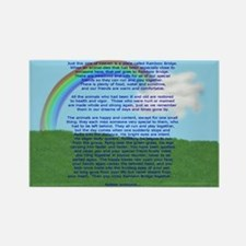 Rainbow Bridge Rectangle Magnet (10 pack)