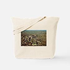 1950's Minneapolis Skyline Tote Bag