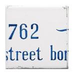 Bourbon St Mural #10 Tile Coaster