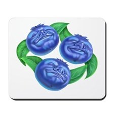 blueberries blueberry Mousepad