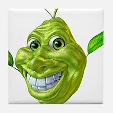 pear pears Tile Coaster