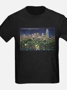 1946 Minneapolis Skyline at Night T