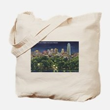 1946 Minneapolis Skyline at Night Tote Bag
