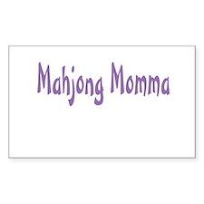 Mahjong Momma Decal