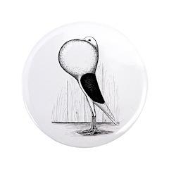 """Voorburg Cropper Pigeon 3.5"""" Button (100 pack"""