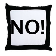 No Sex for You! Throw Pillow