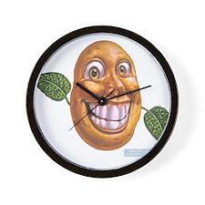 patato patatos Wall Clock