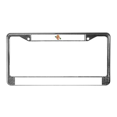 patato patatos License Plate Frame