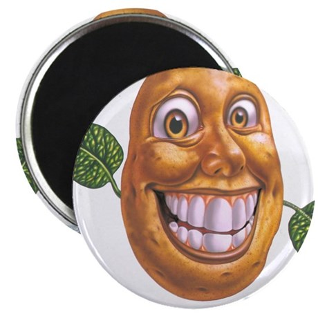 "patato patatos 2.25"" Magnet (100 pack)"
