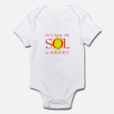 Keep the Sol in Solstice Infant Bodysuit