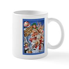 santa stuck on northpole Mug