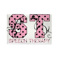 Lots of Dots Rectangle Magnet (10 pack)