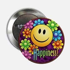 "Happiness 2.25"" Button"