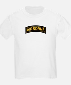 Airborne Tab Black and Gold T-Shirt