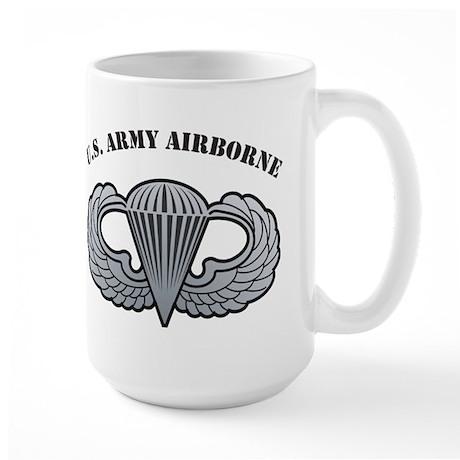 Basic Airborne Wings U.S. Arm Large Mug