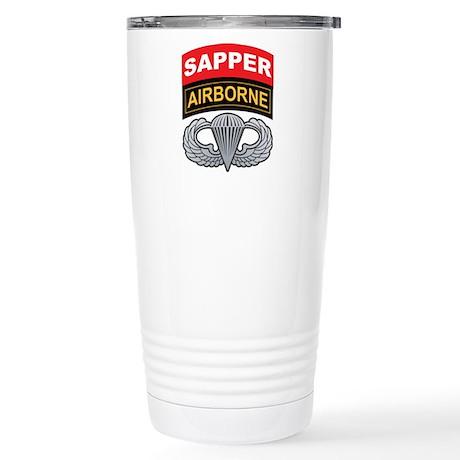 Sapper/Airborne Tab Basic Air Stainless Steel Trav