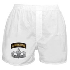 Senior Airborne Wings with Ai Boxer Shorts