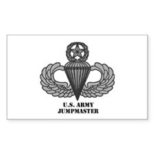 Master Airborne Wings Rectangle Decal