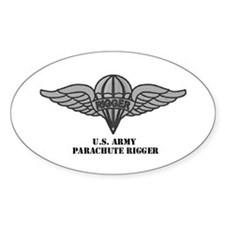 Rigger Wings Oval Decal