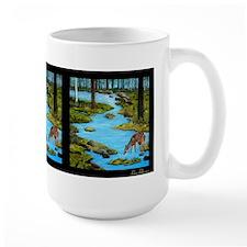 Doe&Fawn @ River's Edge 3 panel Mug
