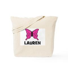 Butterfly - Lauren Tote Bag