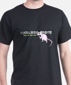 Hairless Rats Black T-Shirt