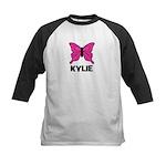 Butterfly - Kylie Kids Baseball Jersey