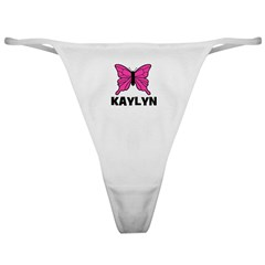 Butterfly - Kaylyn Classic Thong