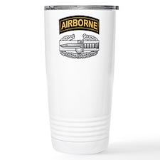 CAB with Airborne Tab Travel Coffee Mug