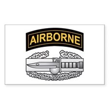 CAB with Airborne Tab Rectangle Decal