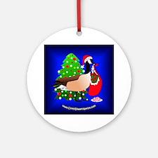 2009 CDN Holiday Ornament- 'Geese on Earth'