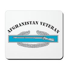 CIB Afghanistan Veteran Mousepad