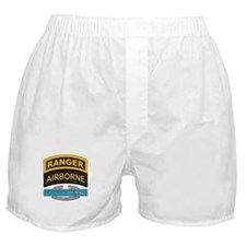 CIB with Ranger/Airborne Tab Boxer Shorts