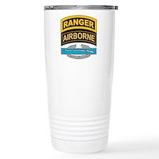 CIB with Ranger/Airborne Tab Thermos Mug