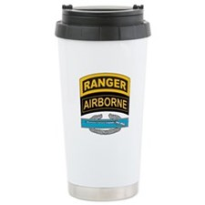 CIB with Ranger/Airborne Tab Travel Mug