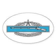 Combat Infantryman's Badge 2n Oval Decal