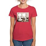Voorburg Pigeon Pair Women's Dark T-Shirt
