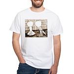 Voorburg Pigeon Pair White T-Shirt