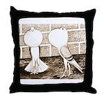 Voorburg Pigeon Pair Throw Pillow
