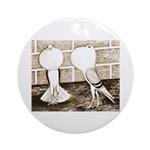 Voorburg Pigeon Pair Ornament (Round)