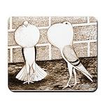 Voorburg Pigeon Pair Mousepad