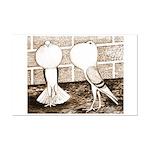 Voorburg Pigeon Pair Mini Poster Print