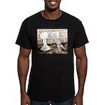 Voorburg Pigeon Pair Men's Fitted T-Shirt (dark)