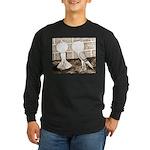 Voorburg Pigeon Pair Long Sleeve Dark T-Shirt