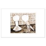 Voorburg Pigeon Pair Large Poster