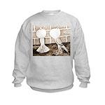 Voorburg Pigeon Pair Kids Sweatshirt