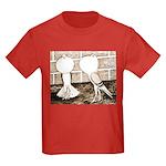 Voorburg Pigeon Pair Kids Dark T-Shirt