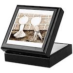 Voorburg Pigeon Pair Keepsake Box