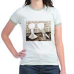Voorburg Pigeon Pair Jr. Ringer T-Shirt