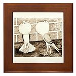 Voorburg Pigeon Pair Framed Tile